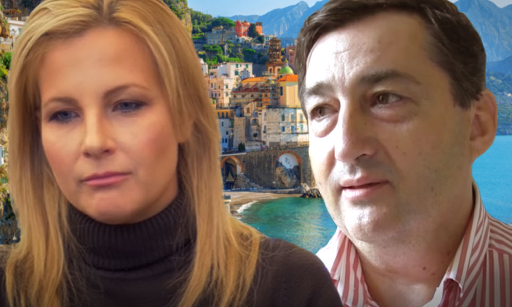 Mészáros Lőrinc egy strandpapucsban sétált Európa egyik legelegánsabb nyaralóhelyén a szomorkodónak tűnő Várkonyi Andreával
