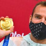 """""""Győzni akarok, győznöm kell!"""" – Nézd meg, hogyan örült Szilágyi Áron a harmadik olimpiai aranyának"""